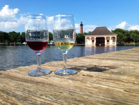 Enjoy Watching The Sunset With Music And Sips Of Wine At Whalehead Wednesday